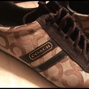 Coach Women's Tennis Shoes Size 7.5